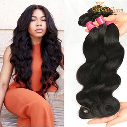 Malaysian Virgin Body Wave Human Hair Weave Virgin Malaysian Hair Dyeable Natural Colour Double Weft Wavy Hair Extensions NoTangle Wholesale