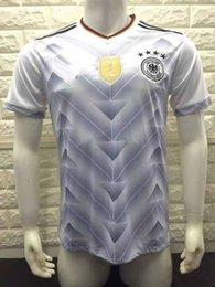 Wholesale Top Thai Germany Home White Soccer jersey Football shirt de foot maillot football shirt