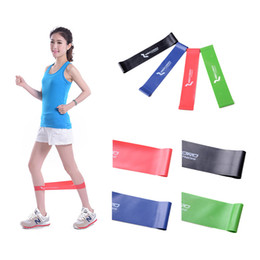 4 Color rubber loop Latex Resistance Bands Fitness equipment Stretch yoga leg training Band Crossfit elastic band gym pilates