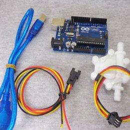 Évaluation des ordinateurs en Ligne-Vente en gros-US200M Compteur d'impulsions 5V DC entrée avec alimentation USB peut se brancher sur ordinateur débitmètre arduino