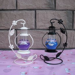 Wholesale Vintage with hook Aladdin absolute being light small lantern jelly candle holders Romantic birthday gift furnishing articles