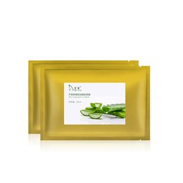 XinYuan Aloes Essence Repair Facial silk Mask Anti Winkles Whitening Hyaluronic Acid Care Skin Face Mask Beauty 25ml * 10PCS