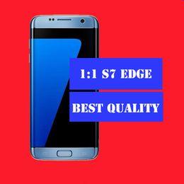 2017 pantallas digitales HOT Goofón S7 EDGE 4G LTE Octa núcleo 5.5inch IPS Curvado pantalla 1920 * 1080 2G RAM 16G ROM añadir 16 / 32GB tarjeta 13MP cámara desbloqueado smartphones económico pantallas digitales