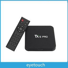 TX5 Pro Amlogic S905X Android 6.0 2GB 16GB Quad Core 2.4G&5.8G WiFi BT4.0 Smart Android Tv Box 10pcs