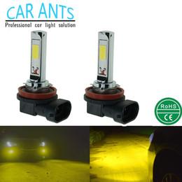LED CREE COB 30W 1400LM Fog lights H8 H9 H11 H16(JP) 12V 24V auto parts super bright OEM ODM lighting bulbs car lamp Nonpolarity plug-n-play