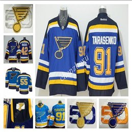 Wholesale 50th St Louis Blues Alex Pietrangelo Blues David TJ Oshie David Backes Vladimir Tarasenko Premier hockey Jersey
