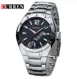 CURREN 8103 marca de lujo reloj analógico fecha hombres reloj de cuarzo reloj casual hombres relojes relogio masculino