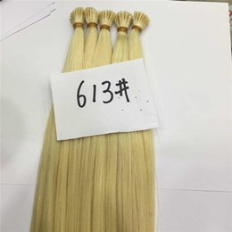 Resika Hot Sale I-Tip Hair 20 inch Indian I Tip Remy Human Hair Pre-bonded Hair Extensions Multi Color 1g strand 50g free shipping