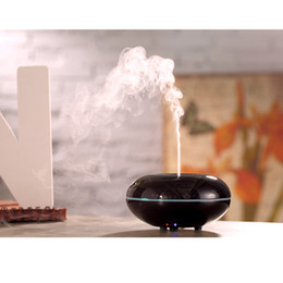 Wholesale CAROLA Electric Ultrasonic Aroma Diffuser Essential Oil Diffuser Humidifier ml Reed Diffuser Wood Grain Room Diffuser black