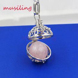 Wholesale Pendulum Natural Gem Stone Pendant Jewelry Lucky Lantern Various Accessories European Fashion Women Mens Jewelry Reiki Amulet