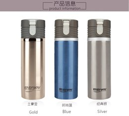Wholesale Top Quality Stainless Steel Travel Cup Car Heated Mug Auto Heater DC V Thermos Mug Car Styling EASY WAY