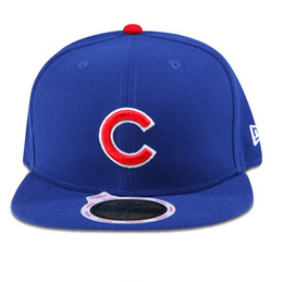 Wholesale 2016 MBL Chicago Cubs Authentic Collection On Field FIFTY Game Caps World Series Champion Hats Fitted Cap Baseball Sport Fit Team Hats