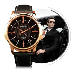 Promotion regarder rose d'or Rose Gold Montres-bracelets Hommes 2017 Top Marque Luxe Famous Homme Horloge Quartz Montre Golden Montre Montre Quartz Relogio Masculino