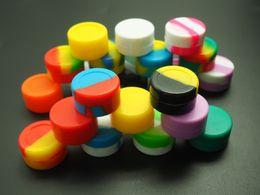 500 Pcs lot Upscale Mini Block Non-stick Concentrate Silicone Container Wax