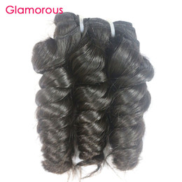 Glamorous Peruvian Hair Bundles 4Pcs Romance Curly Raw Unprocessed Human Hair Weft Top Quality Brazilian Indian Malaysian Hair Extensions