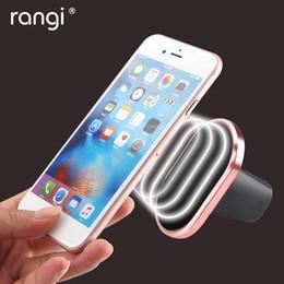Acheter en ligne Vent mount gps-Grossiste-RANGI Universal Magnetic voiture téléphone support Air Vent Mount Magnet téléphone cellulaire stand pour GPS iPhone 6 HTC kit voiture