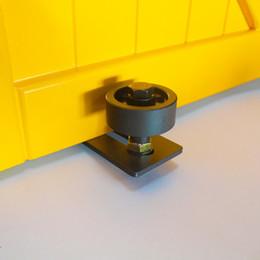 Sliding Barn Door Wondeful Hardware Wall Guide Door Bottom Floor Guide Screws Adjustable With Free Shipping
