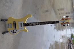 Guitare par en Ligne-Vente en gros-Shelly nouvelle érable corps 4 cordes cou à travers RK Chris Squire signature 4003 guitares électriques instruments de musique boutique