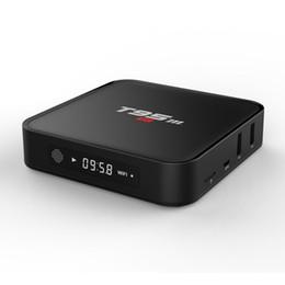 Amlogic android en Ligne-T95M Android 6.0 TV Boîtes 64Bit 1Go 8Go Amlogic S905X Quad Core 2.4GHz WiFi Kodi Préinstallé Internet IPTV OTT TV Box