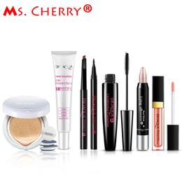 Vente en gros - Ensemble de maquillage nu BB Cream Air Cushion Cream Grips pour sourcils Eyeliner Mascara Kits à lèvres pour Lady City Elite MB001 lady city on sale à partir de dame ville fournisseurs