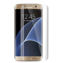 Wholesale Hardness H Screen Protecter Tempered Glass Ultra thin mm Reinforced Front Film for Samsung galaxy S6 S7 Edge