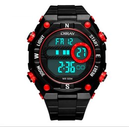 HotYouth sports watch luminous waterproof multifunction electronic watch and watch the boy students' personality