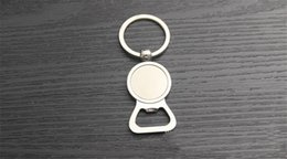 Free Engraved Bottle Opener Keyring Personalized Wedding Favor Keepsake key chain keychain round metal alloy keyring