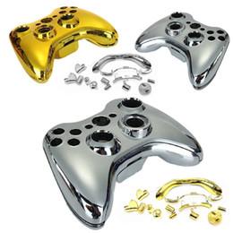 Nuevo conjunto completo de herramientas Generic Plating Protective Case Reemplazar el botón para XBOX 360 Game Console Controller Gold Silver desde herramientas de control de xbox fabricantes
