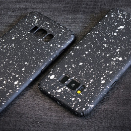 Wholesale Colorful Glitter Phone Case Cover for Samsung S8 S8 Plus PC Phone Back Cover for iPhone 7 Cell Phone Case