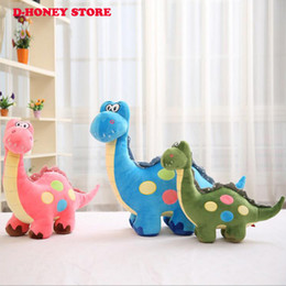 Wholesale Cartoon Dinosaur small Sitting High cm cm Plush Dragon Soft Animal Stuffed Toy For Baby Kids Children Gift Good Quality