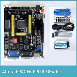 Wholesale ALTERA Cyclone IV EP4CE6 FPGA Development Kit Altera EP4CE FPGA Board USB Blaster Infrared controller