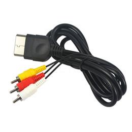 Câbles xbox av en Ligne-Wholesale-1.8 M Component AV à RCA Audio Video Cable convertisseur AV Cable adaptateur pour XBOX