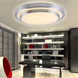 Wholesale 12W W W W Led Ceiling Light Down Light Led Double Round Living Room Bedroom Light Lamp Dia mm V Led Ceiling Lamp