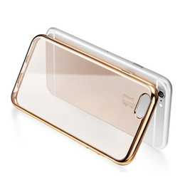 Wholesale for iPhone 7 7 Plus Phone Cover Transparent Clear Soft silicon TPU Protective Phone Cover Phone case