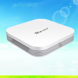 Wholesale TX8 Max Amlogic S912 Android G G Bluetooth BT4 Android TV BOX Amlogic S912 Octa core ARM Cortex A53 CPU up to GHz set top box