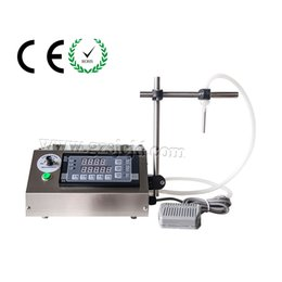 Wholesale New Digital Control liquid filling machine ml for mineral water juice beverage milk