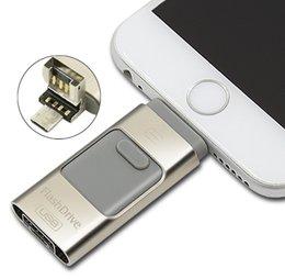 Pc hd à vendre-Lecteur universel pour iPhone iPad Andriod PC Pen Drive HD Memory Stick Dual Usage Mobile OTG Micro USB Flash Drive 16 Go 32 Go 64 Go