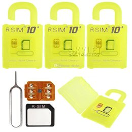 Wholesale Newest R SIM Unlock Card For iPhone RGKINSE R SIM For IOS IOS Support All SIM Card Retail Package
