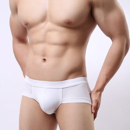 2017 2Pcs lot Modal comfortable men underwear fashion Sexy personality Underpants Model Men Underwear