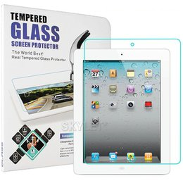 Wholesale For iPAD Tempered Glass Screen Protector For Ipad Ipad mini Film Tablet Screen Protector H MM Tempered Glass Retail Package