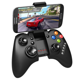 2017 pc joystick IPEGA Wireless Bluetooth Game Controllers Joystick Gamepad para xiaomi Android iOS ipad iphone Samsung Tablet PC manejar PG-9021 económico pc joystick