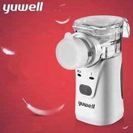 yuwell HL100A ultrasonic nebulizer inhaler nebulizer machine inhalation machine atomizer inhaler medicated nebulizer CE FDA SG