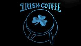 Wholesale LS1729 g Irish Coffee Cup Shop Shamrock Neon Light Sign jpg