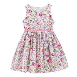 2017 INS baby girl toddler Kids Adults Summer clothes Pink Blue Rose Floral Vest Sleeveless Dress Jumper Jumpsuits Ruffle Pleated Waist
