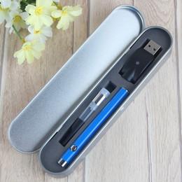510 button battery pen box kit starter kit vape pen oil atomizer electronic cigarettes vaporizer pen cartridges CE3 atomizer e cig kits