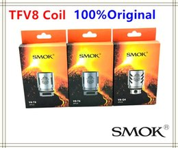 Authentic Smok TFV8 Coil Head V8-T8 V8-T6 V8-Q4 V8-X4 V8-T10 Turbo V8 RBA Replacement Coils For TFV8 Cloud Beast Tank