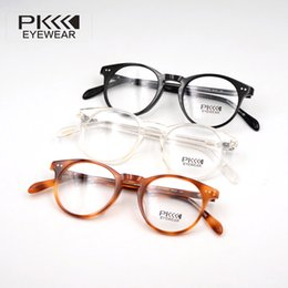 2019 Italy design glasses Brand Designer retro round ov5256 Sir O'Malley Eyewear glasses Frame With Original Cases