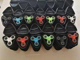 Stockage pour les jouets à vendre-3 types Fidget Spinner Pouch Spinner à main Jouets Live Storage Bags câble de téléphone portable USB sacoche de stockage de carte de CD 100pcs option multicolore DHL