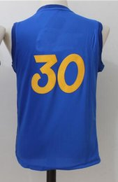 Wholesale Blue SC Youth Kids Christmas Day Basketball Jersey New Material Rev Basketball jersey S XL With Stitched Name and Number