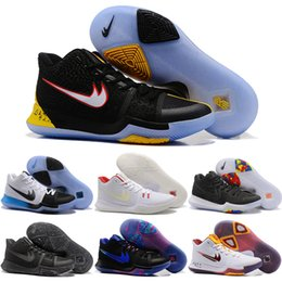 Drop Shipping 2017 Wholesale Basketball Shoes Men Kyrie 3 Sneakers High Quality Cheap Hot Sale Outdoor Sports Shoes Size 40-46
